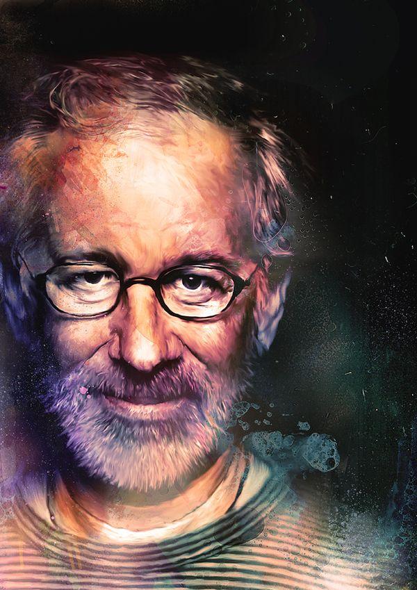 Spielberg: Movie Posters, Awesome Movie, Art Illustrations, Picture-Black Posters, Richard Davis, Steven Spielberg, Digital Art, Graphics Design, Digital Illustrations