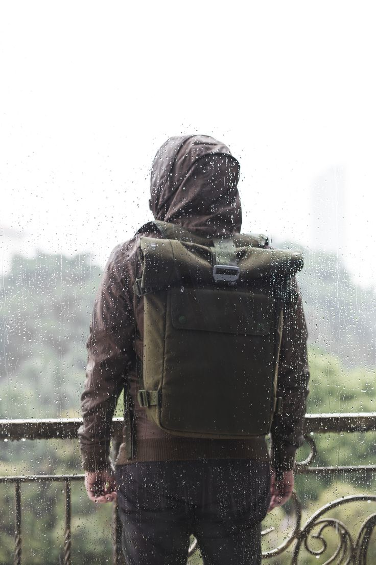 Bluelounge roll-top backpack.