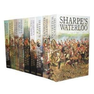 Bernard Cornwell Sharpe's War Battle Collection 9 Books Set Pack (Sharpe's Battle, Sharpe's Havoc, S $59.99