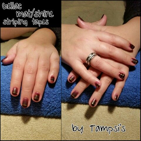 Gellac matte and shine striping tapes by Tampsi's