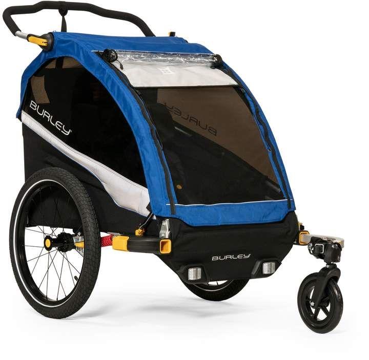 Burley D Lite Kids Bike Trailer Double Stroller In 2019 Kids