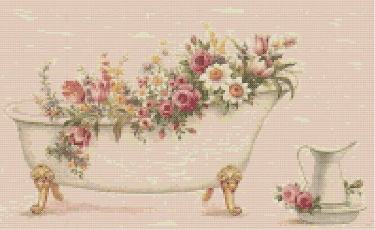 free victorian cross stitch charts - Google Search