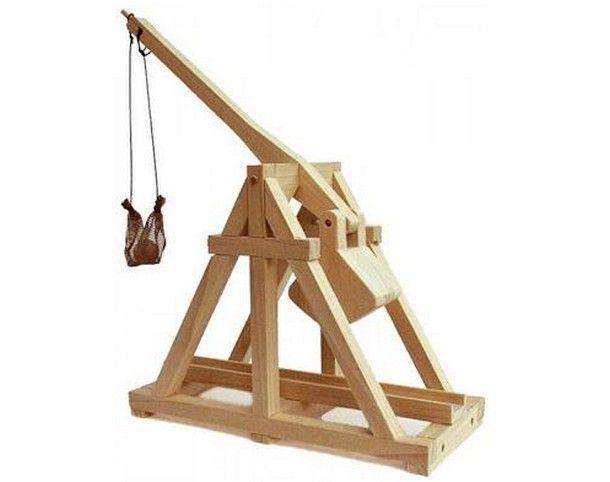 Trebuchet Catapult Plans Woodworking Projects Plans