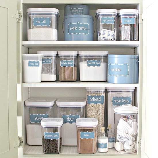 Organized Pantry And Pantry Tips: 17 Best Ideas About Baking Organization On Pinterest
