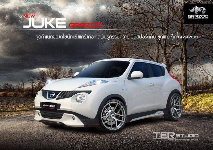 ชุดแต่ง Nissan juke Grazoo   Nissan Juke แต่ง   รถแต่ง