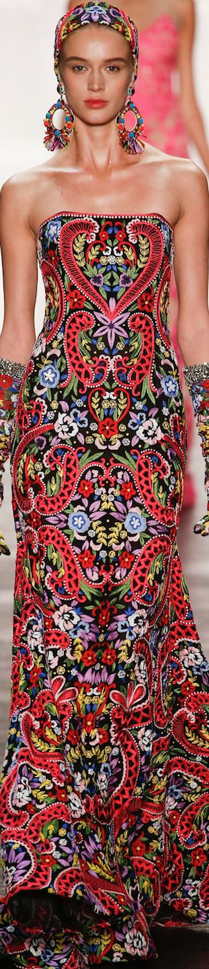 Naeem Khan - Spring 2016 RTW Indian Fashion