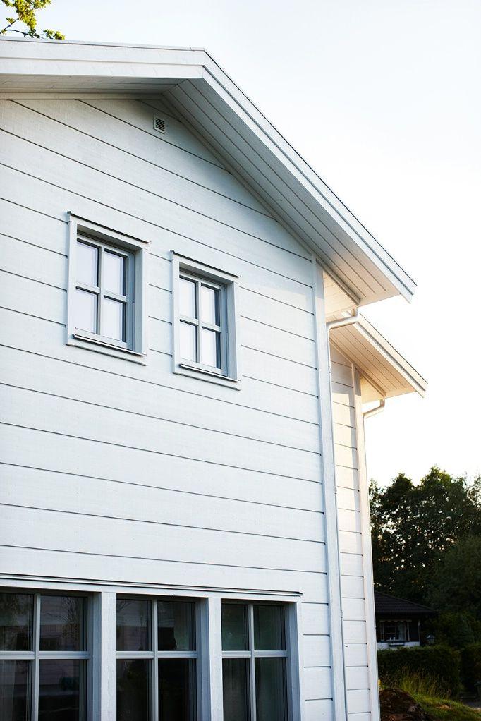Trivselhus - Liggande bredpanel