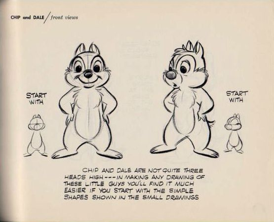 """""""How to Draw Chip and Dale"""" 