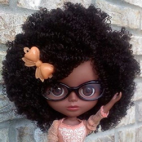 African American Blythe Doll... Just the most beautiful doll I've ...