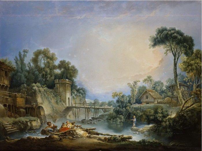 картины художника Франсуа Буше-17