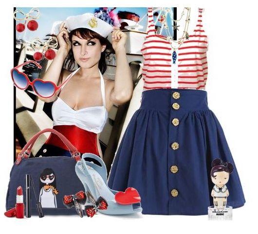 Морской стиль в одежде - тренд лета / Блог Valerya / Гланж