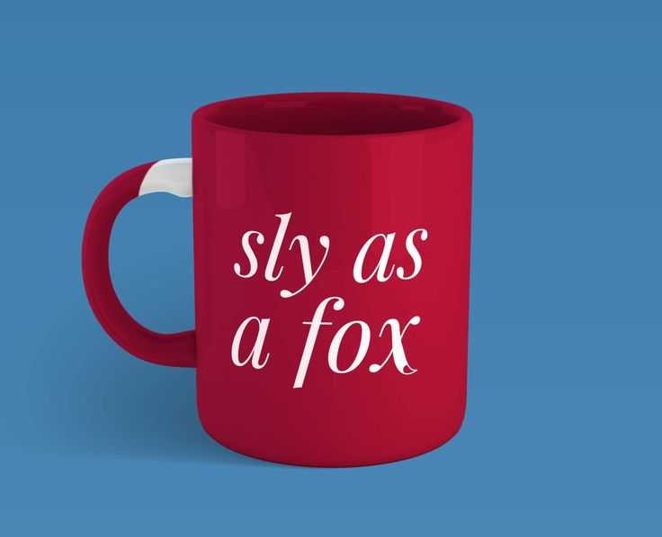 One of the (potential) extras!! I have a mug that's shaped like a fox head with a cute little fox tail handle and that's what I was sort of going for here. The back would ideally have the logo, I just haven't gotten around to photoshopping that in yet.
