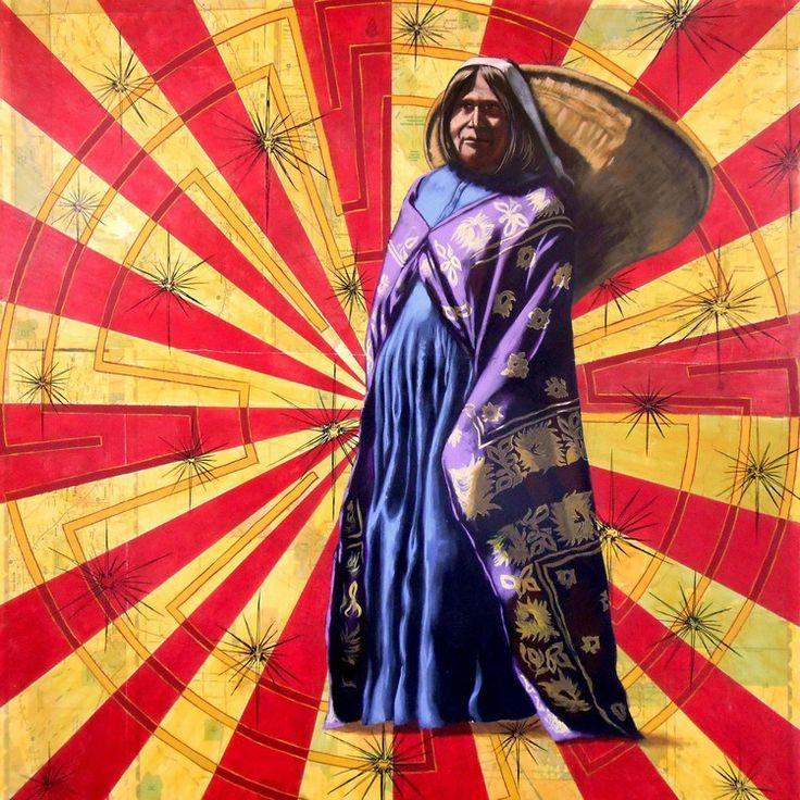 Desert Gathering, Chris Pappan (Kaw/Osage/Cheyenne River Sioux)