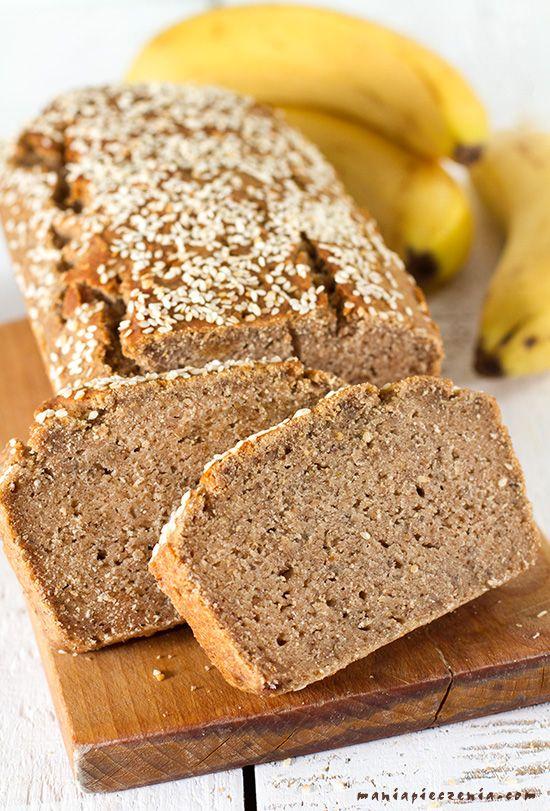 Vegan banana bread - gluten, sugar and lactose free