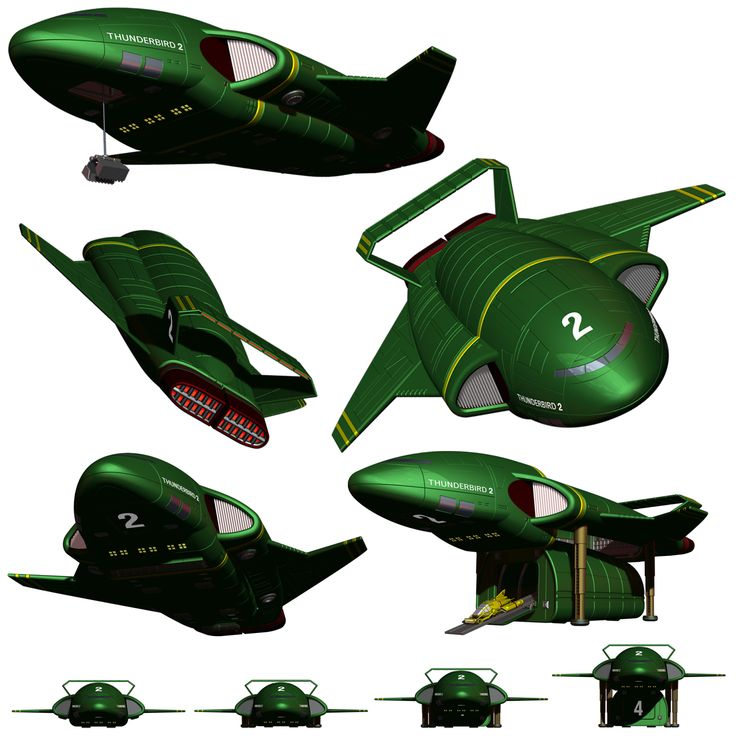 Thunderbird 2 by Librarian-bot.deviantart.com on @deviantART