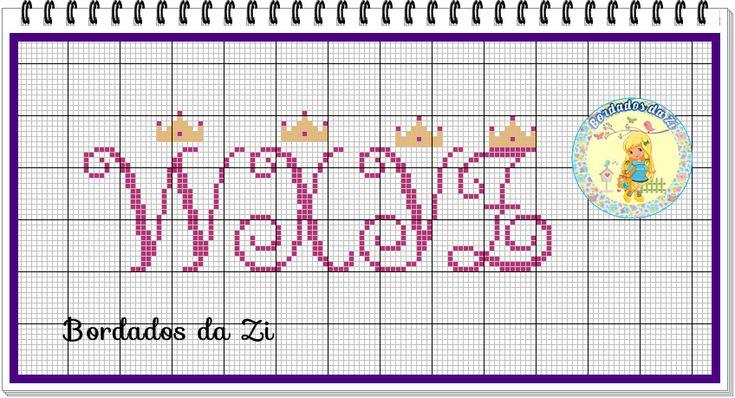 Monograma coroa