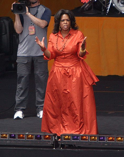 The wrong #Orange for #Oprah