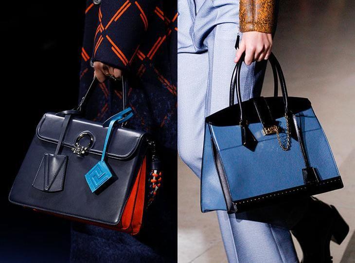 Модные портфели осень-зима 2017-2018: Versace, Louis Vuitton