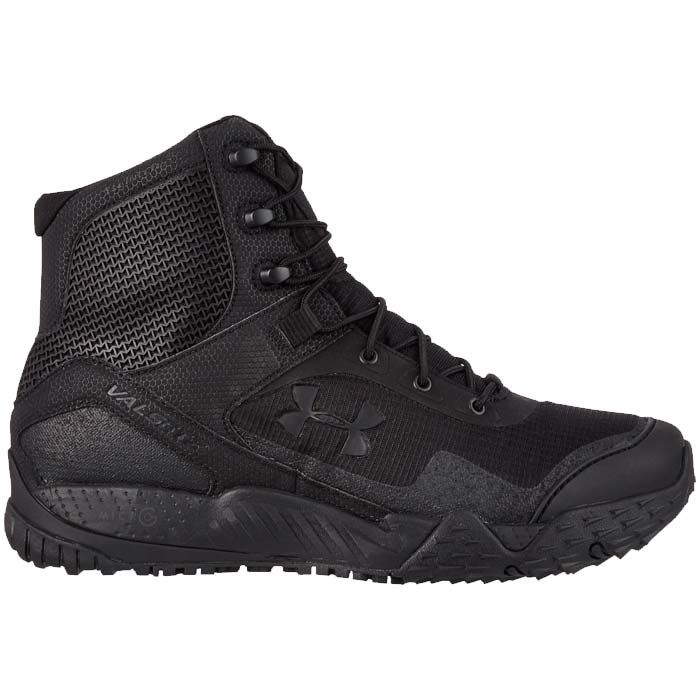 Valsetz RTS Black Tactical Boots by Under Armour