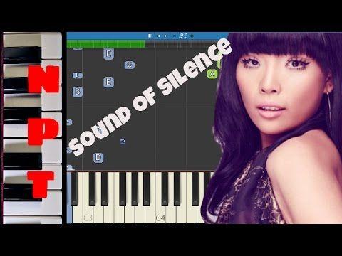Dani Im - Sound of Silence Piano Tutorial - Australia Eurovision 2016
