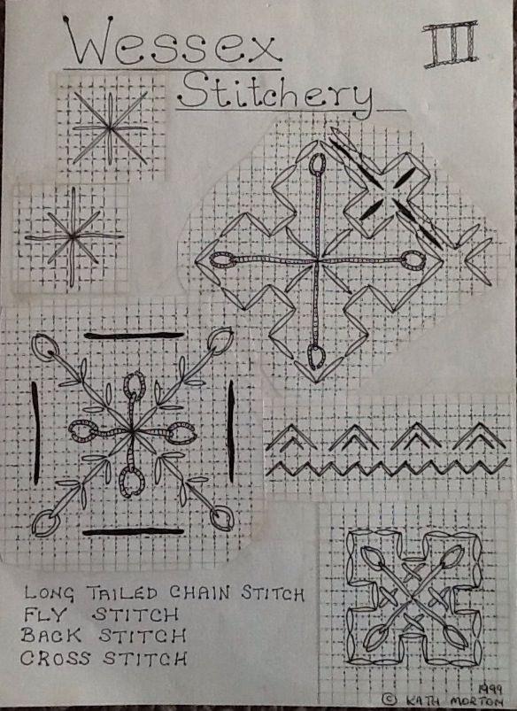 Wessex Stitchery notes (3) by Kath Morton