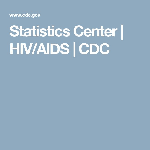 Statistics Center | HIV/AIDS | CDC