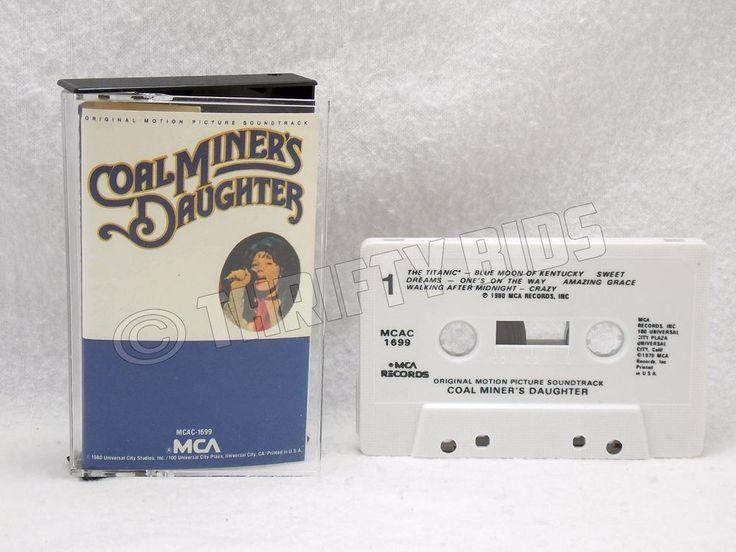 Coal Miners Daughter Original Motion Picture Soundtrack Audio Cassette Tape 1979 #FilmScoreSoundtrack