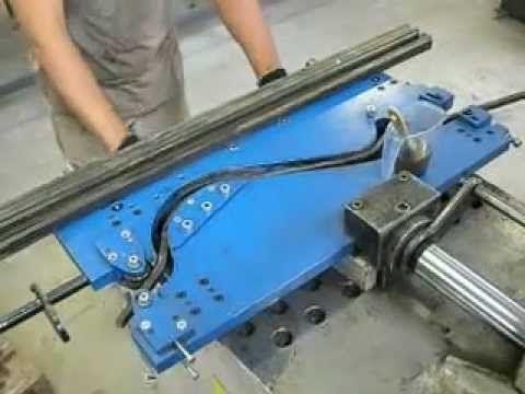 Изготовление стальной балясины на прессе