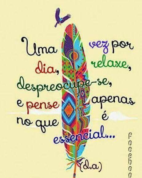 Há que relaxar para Viver.!...