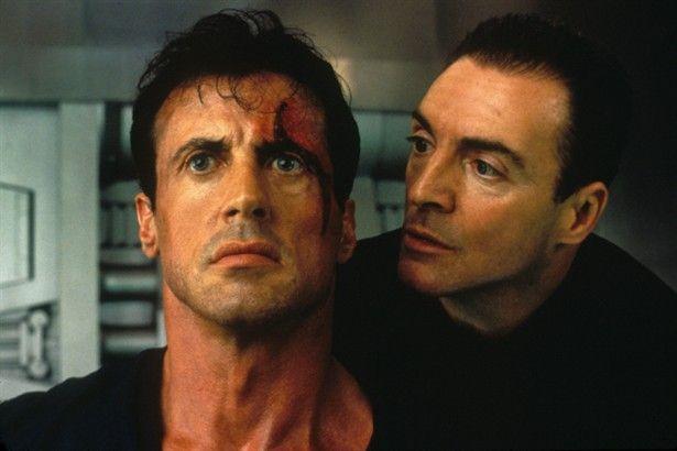 Judge Dredd Stallone and Assante 1995 judges Joseph and Rico Dredd