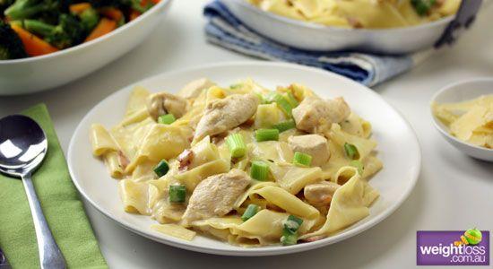 Creamy Chicken Pappardelle Recipe