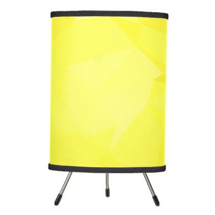 LoveGeo Abstract Geometric Design - Bumble Bee Tripod Lamp - modern gifts cyo gift ideas personalize