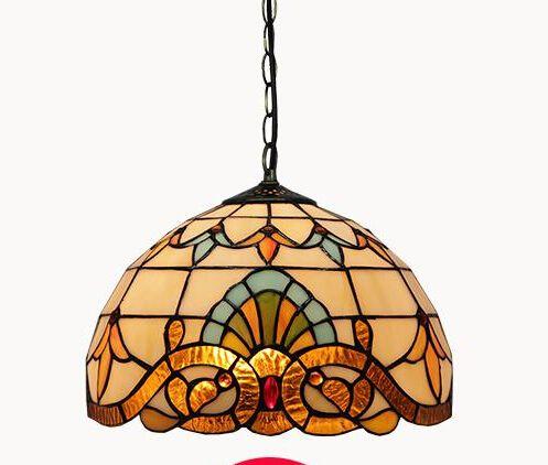 la novedad creativa tiffany pantalla de cristal de la lmpara colgante de luz que cuelga de