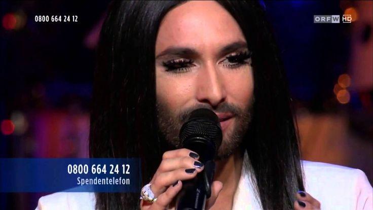Conchita Wurst - Walk away (Hommage an Udo Jürgens, Licht ins Dunkel, 24...