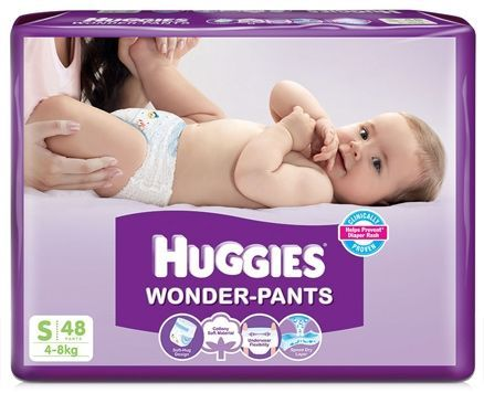 Huggies Wonder Pants Small - 48 Pieces http://www.firstcry.com/huggies/huggies-wonder-pants-small-48-pieces/161510/product-detail