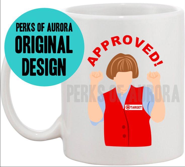 Target Lady- SNL coffee mug by perksofaurora on Etsy https://www.etsy.com/listing/169142935/target-lady-snl-coffee-mug