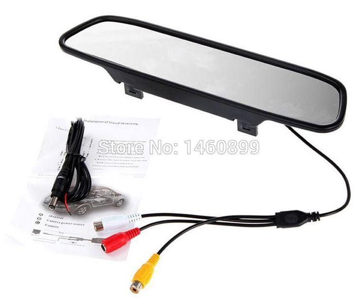 NEW 4.3 Inch TFT LCD display Car Rear View Mirror Monitor Parking Rearview Monitor +Night Version 7 IR Lights Car Reverse Camera