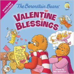 The Berenstain Bears' Valentine Blessings from the Zonderkidz Living Lights series - The Country Cousins hockey team has been practicing every day for the big game against their rivals, the Beartown Bullies. But when Brother receives a Valentine in the mail from a secret 'Sweetie Bear' he doesn't know what do. Will the Valentine keep him from playing his best at the hockey game or will he learn an important lesson about love?