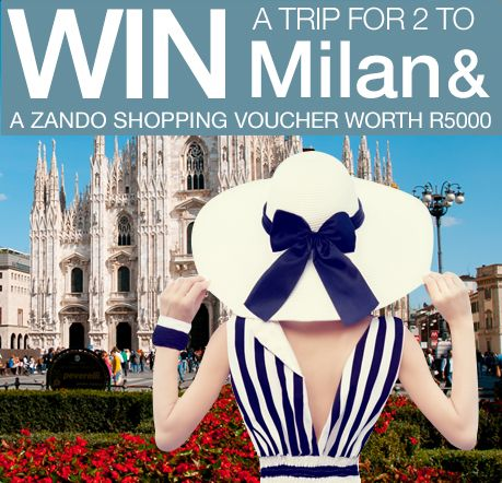 WIN a Trip to Milan for 2 including Zando Fashion vouchers