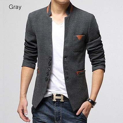 Asian Designer New Style Wool Blazer Jacket – Sneak Outfitters