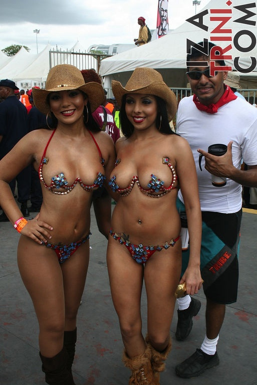 Nude carnival naked trinidad
