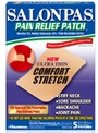 FREE Sample Of Salonpas Pain Relief Patch