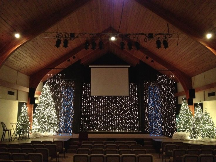 Simple Church Christmas Decoration Ideas : Best ideas about christmas stage design on