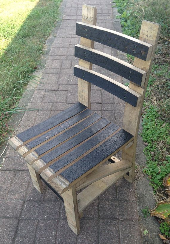 Kentucky Bourbon Barrel Chair By KyRusticFurniture On Etsy