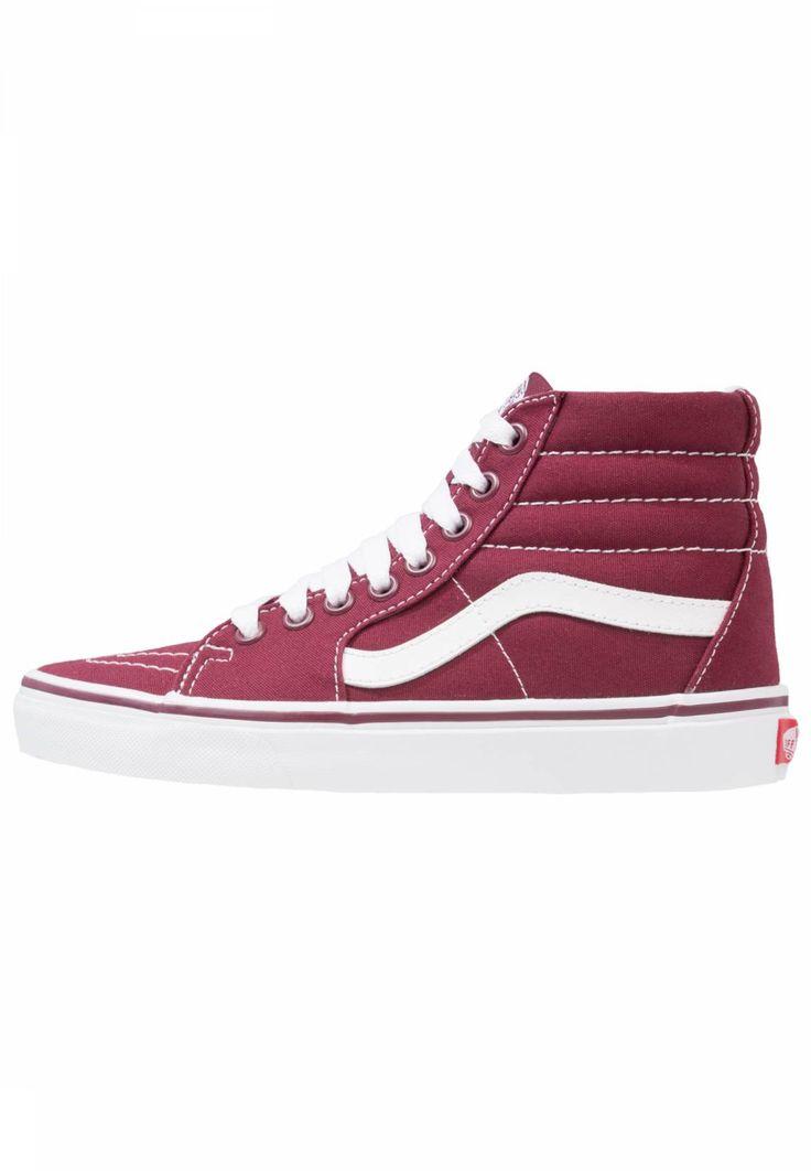 Vans. SK8 - Sneaker high - port royale. Sohle:Kunststoff. Decksohle:Textil. Innenmaterial:Lederimitat/Textil. Details:Ziernähte. Obermaterial:Leder und Textil. Verschluss:Schnürung. Fütterungsdicke:kalt gefüttert. Schuhspitze:rund. Absat...