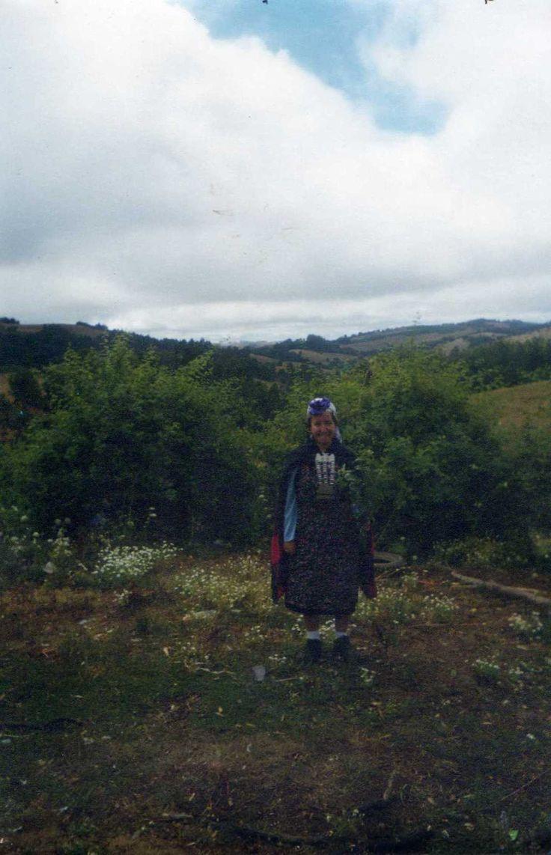 Vivir con una familia mapuche