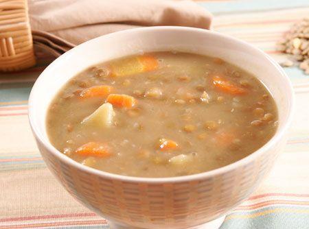 Sopa de Lentilha - Veja como fazer em: http://cybercook.com.br/sopa-de-lentilha-r-11-12079.html?pinterest-rec