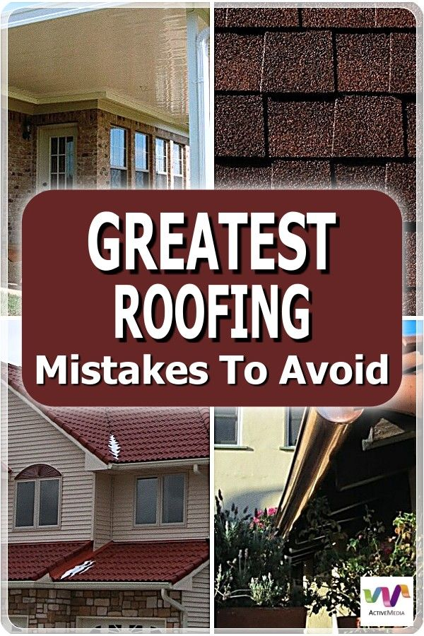 What You Need To Know Before Getting A New Roof In 2020 Roofing Roof Inspection