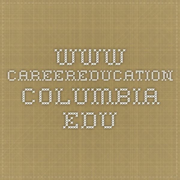 www.careereducation.columbia.edu