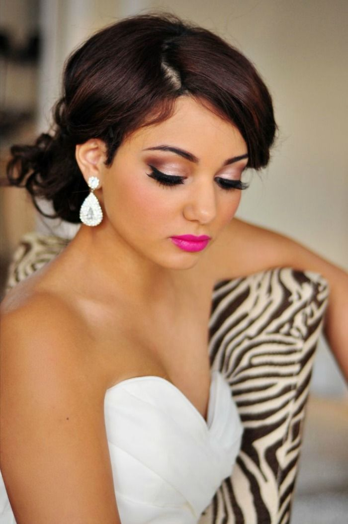hair style for wedding best 25 bold lip makeup ideas on copper 8625